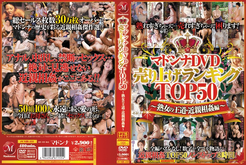 Madonna Dvd Sales Ranking Top50 ~ Mature'S Royal Road / Incest Edition ~